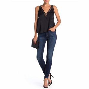 HUDSON Natalie Mid Rise Ankle Super Skinny Jeans